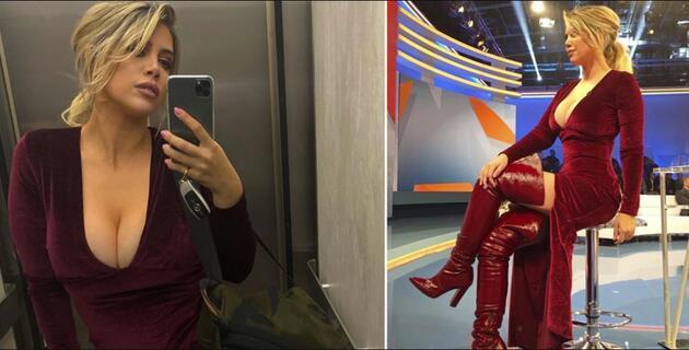 Wanda Nara'nın son pozu Instagram'ı karıştırdı