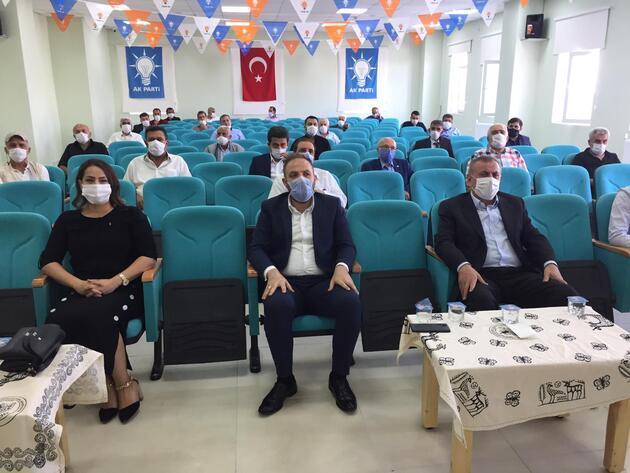 HDP'de istifa eden 3 belediye meclis üyesi AK Parti'ye geçti