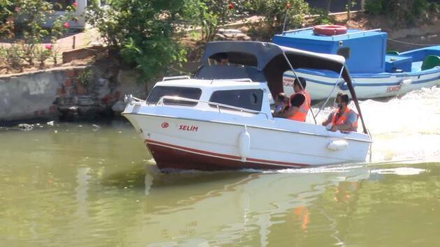 Çevre ve Şehircilik Bakanlığı ekipleri Küçükçekmece Gölü'nde inceleme yaptı