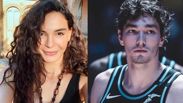Ebru Şahin ve Cedi Osman'dan 'aşk' iddialarına açıklama
