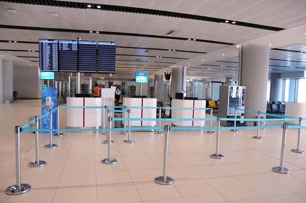 Son dakika... İstanbul Havalimanı'nda koronavirüs test merkezi kuruldu