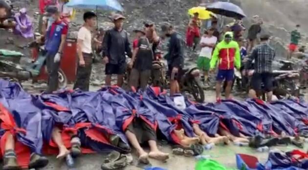 Myanmar'da facia: 113 ölü