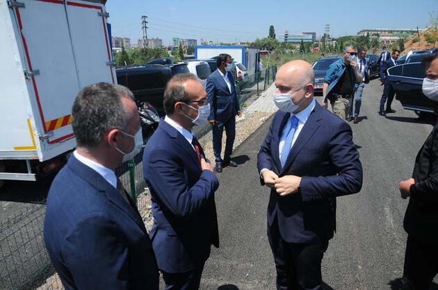 Son dakika... Bakan Karaismailoğlu, İstanbul ve Kocaeli'ni birleştirecek metro hattında