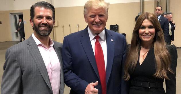 ABD Başkanı Trump'un oğlunun kız arkadaşı koronavirüse yakalandı