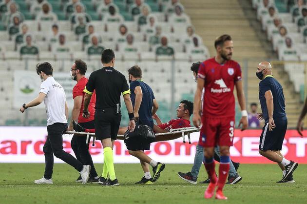 Son dakika... Altınordulu Batuhan Kırdaroğlu'nun ayağında kırık tespit edildi
