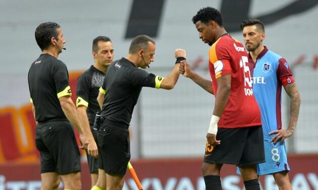 Trabzonspor Galatasaray'ı yarış dışında bıraktı