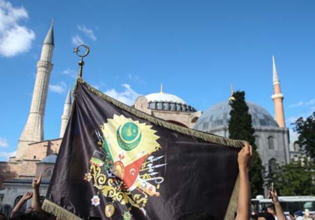 Son Dakika Haberleri... Danıştay kararı sonrası Ayasofya önünde toplanmalar başladı