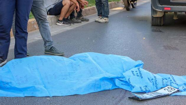 Çarptığı yaya 40 metre sürüklenip hayatını kaybetti! Önce kaçtı sonra teslim oldu