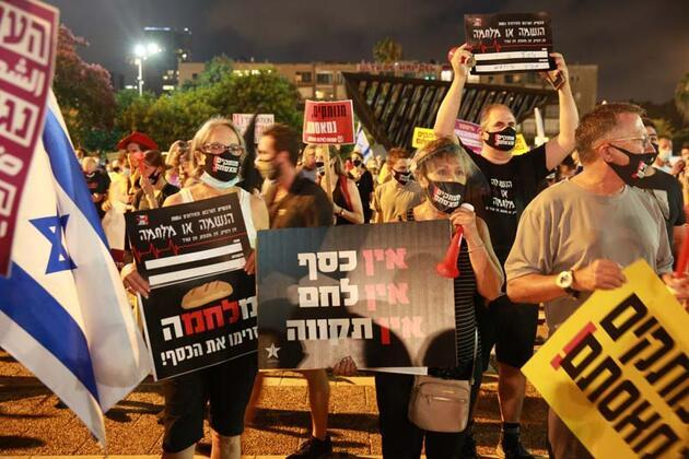 Netanyahu'ya tepki çığ gibi büyüyor!