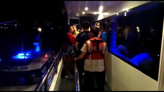 Son dakika... Teknedeki partiye koronavirüs baskını