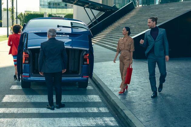 Yeni Caravelle'in en üst seviyesi Highline satışa çıktı