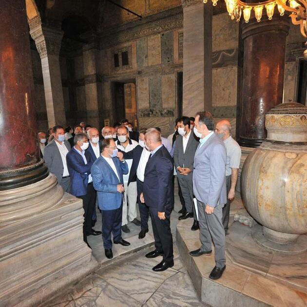 Son dakika... Diyanet İşleri Başkanı Erbaş'tan Ayasofya açıklaması