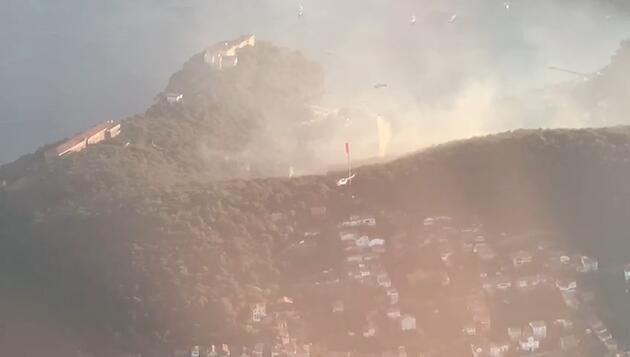 Son dakika haberi: Heybeliada'da orman yangını! 3 kişi gözaltına alındı