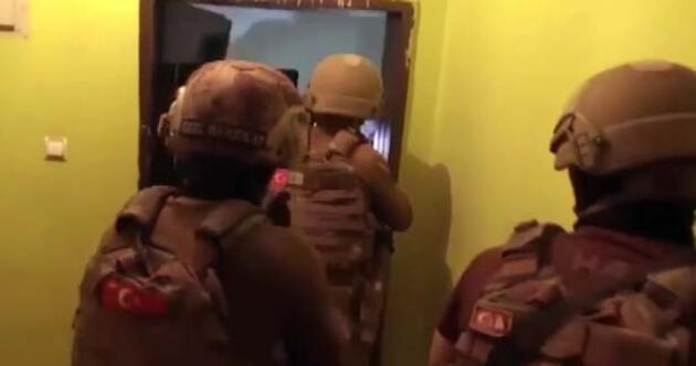 Muğla polisinden film gibi operasyon