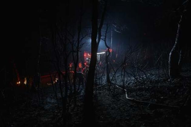 Heybeliada'da yangına müdahale eden ekiplere yardım eden vatandaşlar anlattı