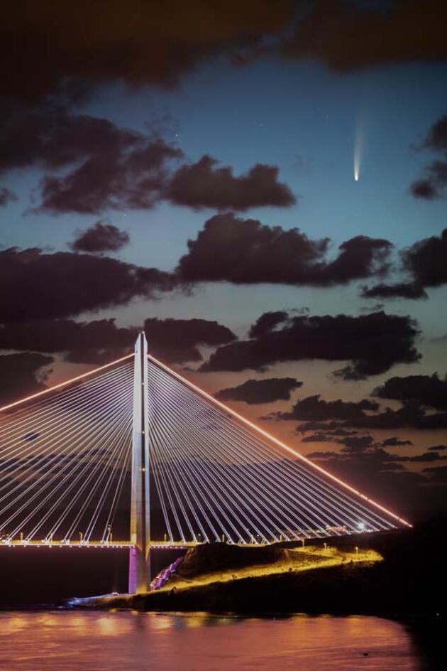 Son dakika... Neowise kuyruklu yıldızı İstanbul semalarında