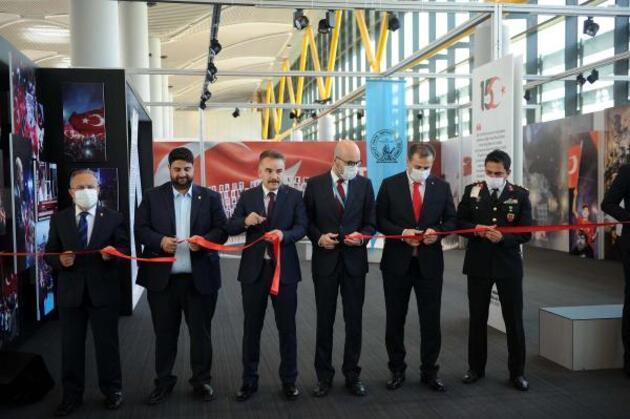 Son dakika... İstanbul Havalimanı'nda 15 Temmuz sergisi