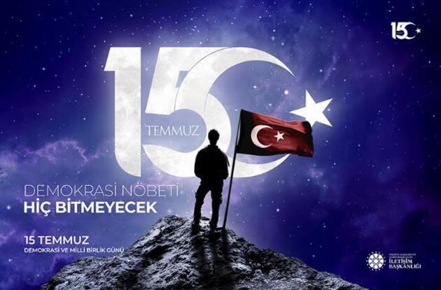 Demokrasi ve Milli Birlik Günü mesajları: Resimli 15 Temmuz sözleri kısa ve uzun mesajlar...