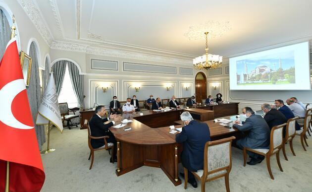 İstanbul Valiliği'nde Ayasofya koordinasyon toplantısı