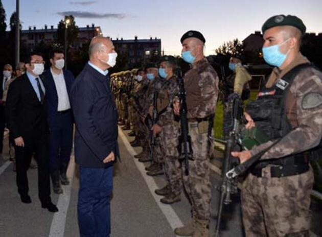 Bakan Soylu: Teröristlerin amacı Karadeniz'e sızmak