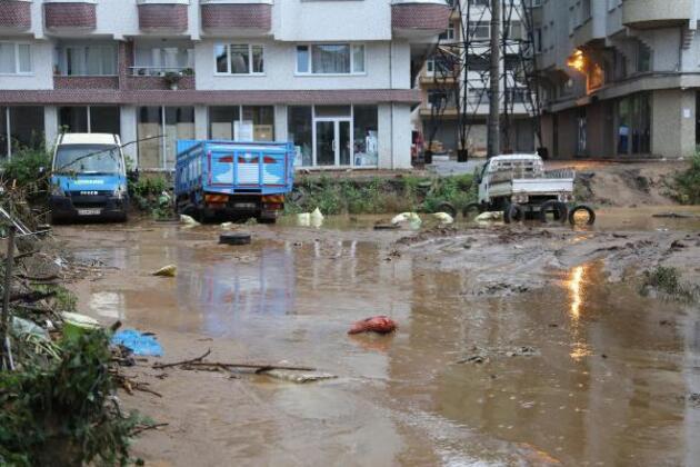 Selin vurduğu Rize'de hasar tespit çalışmaları sürüyor