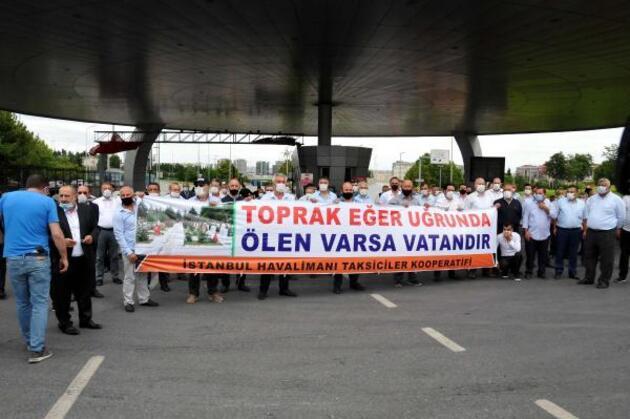 Son dakika... Taksicilerden 240 araçlık Milli Birlik Konvoyu