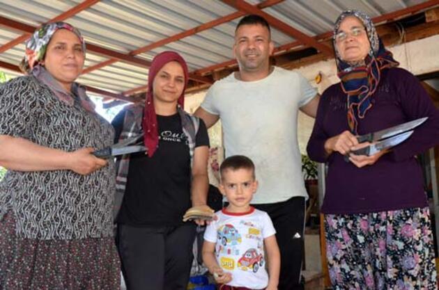 Bıçakçı ailenin Kurban Bayramı mesaisi