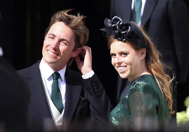 İngiliz kraliyet ailesine çocuklu damat