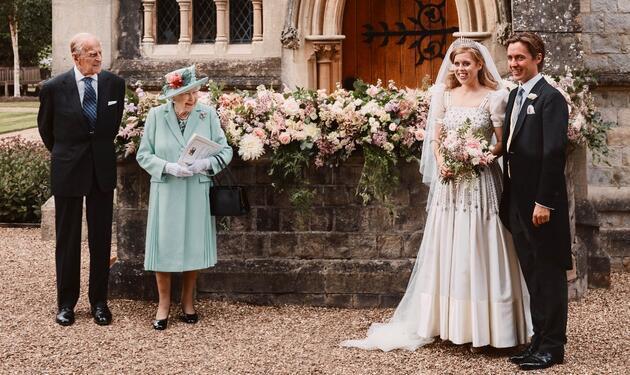 Sürpriz kraliyet düğününden ilk kareler geldi: Fotoğrafta dikkat çeken detay