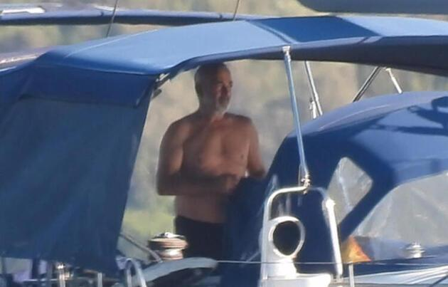 Mehmet Aslantuğ ve Arzum Onan tatilde