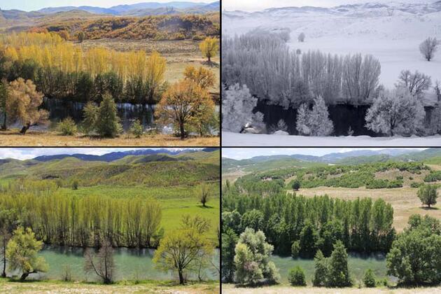 Tunceli'nin Ovacık ilçesi 4 mevsim çekilen fotoğraflarıyla büyülüyor