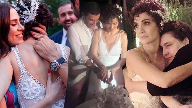 Songül Öden ile Arman Bıçakçı'nın nikahına ünlü akını!