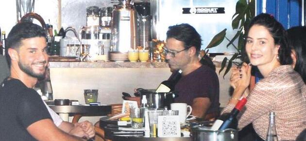 Berk Oktay ile Yıldız Çağrı Atiksoy'dan ilk fotoğraf