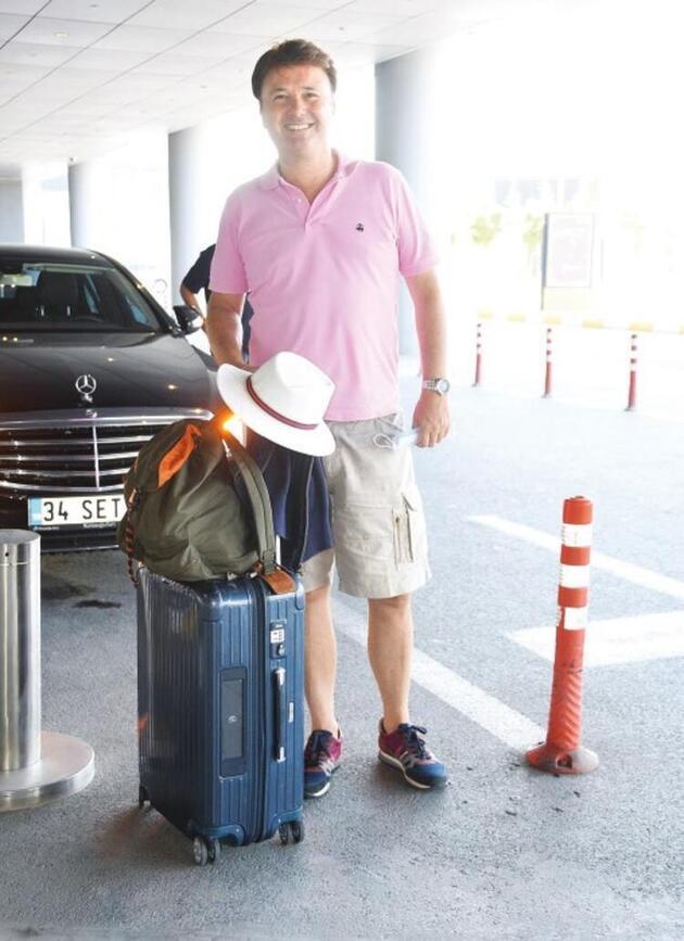 Ünlüler havalimanına akın etti... Bayram yolcusu kalmasın!