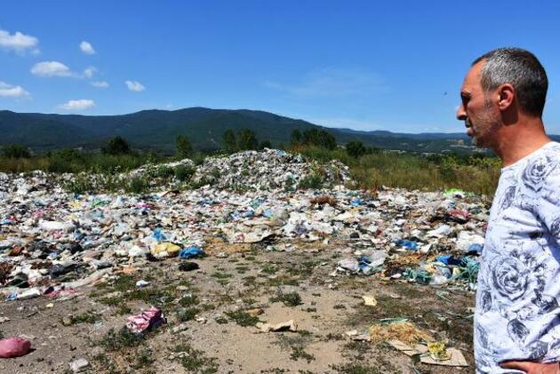 Son dakika... Kaz Dağları'ndaki çöp yığınları çevre için tehdit oluşturuyor