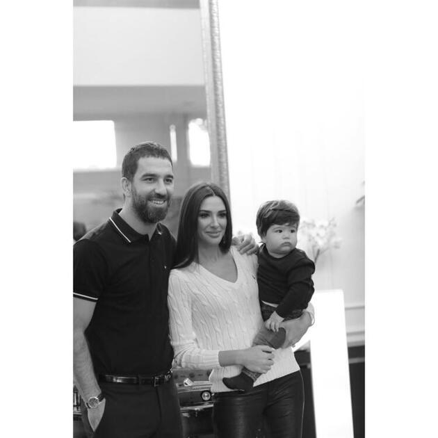 Arda Turan: Baba olmak beni sakinleştirdi