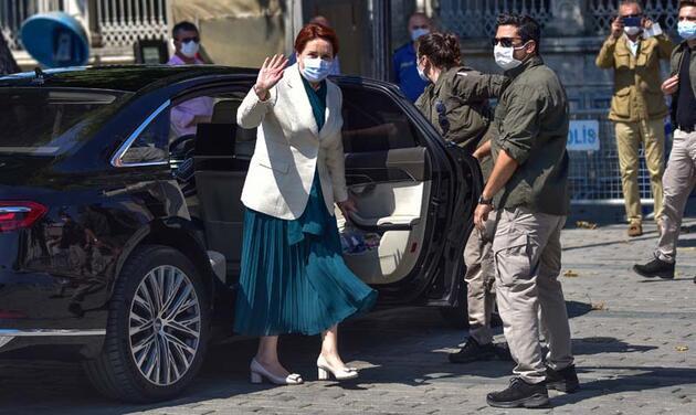 Meral Akşener, Ayasofya-i Kebir Cami-i Şerifi'ni ziyaret etti