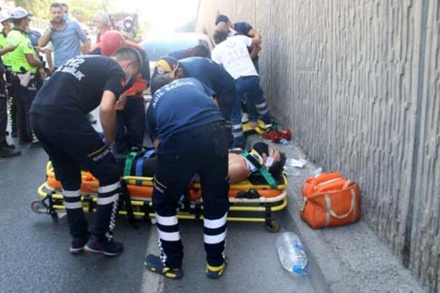 Sarıyer'de kaza: 3 yaralı