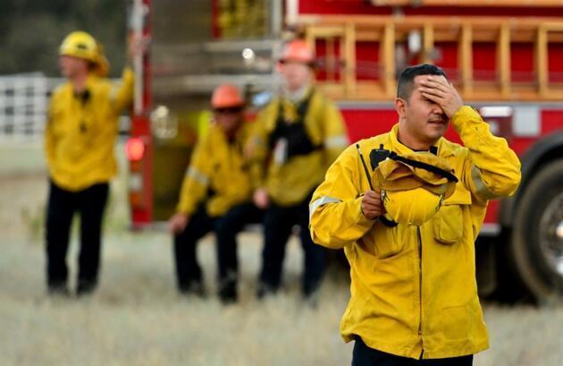 ABD'de yangın kabusu! Günlerdir söndürülemiyor