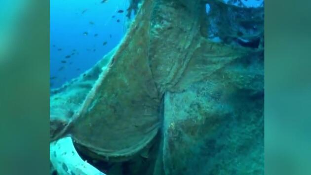 79 yıllık ölüm tuzağı! Dalgıçlar çıkarmak için derinlere daldı