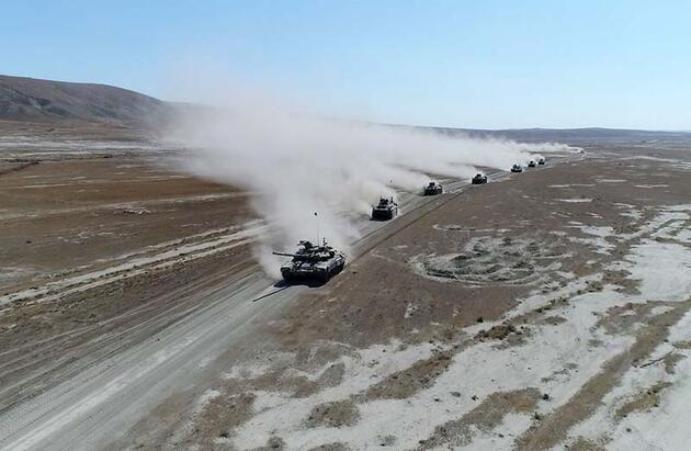 """Son dakika... Ermenistan'ın gözü bu tatbikattaydı! """"Ortak ordu şart"""""""