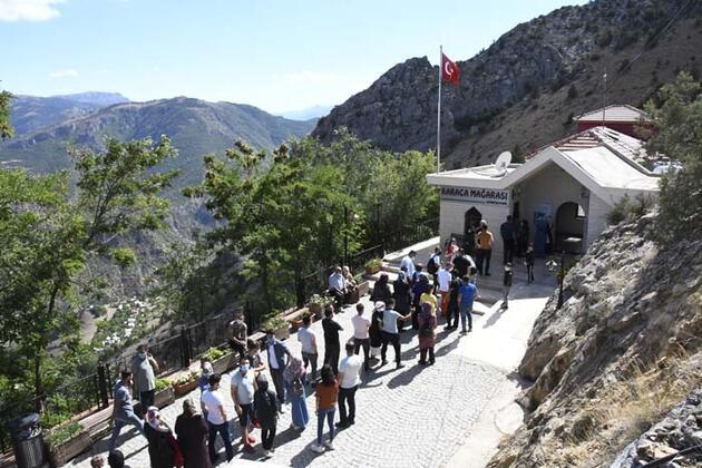 Karaca Mağarası bayram tatilinde yaklaşık 5 bin kişiyi ağırladı