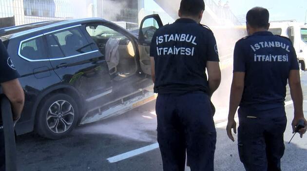 Son dakika... İstanbul'da trafiği kilitleyen kaza