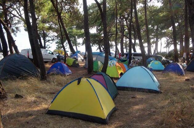 Virüs sonrası çadır turizmine rağbet arttı