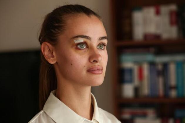 Ukraynalı model ilk kez konuştu: Yere düştükten sonrasını hatırlamıyorum