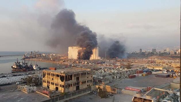 Son dakika haberi... Beyrut Valisi: Hiroşima ve Nagazaki gibi!