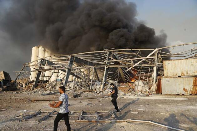 Patlamanın arkasında İsrail mi var? Açıklama geldi