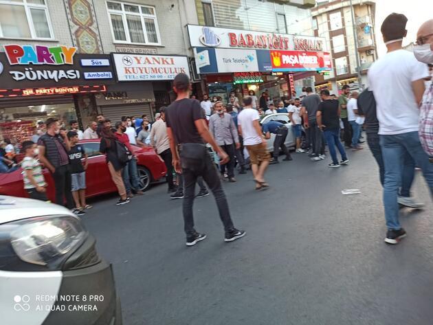 Sokak ortasında silahlı saldırıya uğrayan genç ağır yaralandı