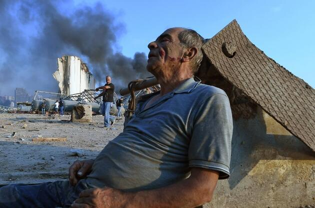 Patlama sonrası Beyrut'ta yeni endişe