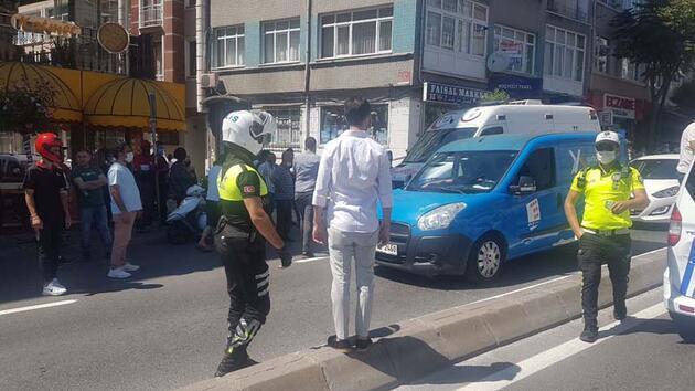 Son dakika... Fatih'te itfaiye aracının altında kalan motosikletli kurye öldü